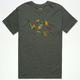RVCA Jungle VA Mens T-Shirt