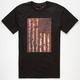 RVCA Saber Flag Mens T-Shirt