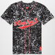 ASPHALT YACHT CLUB Acid Wash Mens Baseball Jersey