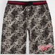ASPHALT YACHT CLUB Acid Wash Mens Sweat Shorts