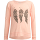 FULL TILT Feather Trio Girls Cozy Sweatshirt