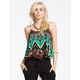 PATRONS OF PEACE Womens Crop Cami