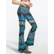 PATRONS OF PEACE Floral Womens Flare Leggings