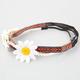 FULL TILT 3 Piece Daisy/Braided/Tribal Headbands