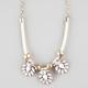 FULL TILT Cord Shimmer Gem Necklace