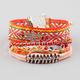 FULL TILT 5 Piece Hamsa/Woven/Braided Bracelets