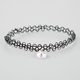 FULL TILT Rainbow Heart Stretch Tattoo Choker