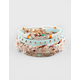 FULL TILT 5 Piece Flower/Braid Bracelets