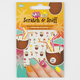 Coconut Scratch & Sniff Nail Stickers