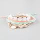 FULL TILT 5 Piece Braided/Crochet/Beaded Bracelets