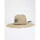 BILLABONG Patches Mens Straw Lifeguard Hat