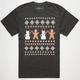 RIOT SOCIETY Ugly Xmas Sweater Mens T-Shirt