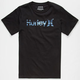 HURLEY One & Only Reflection Boys T-Shirt