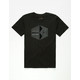 RVCA Geo Hex Reflective Boys T-Shirt
