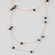 FULL TILT 3 Row Bead Necklace