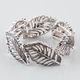 FULL TILT Leaf Stretch Bracelet