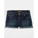 SCISSOR Roll Cuff Girls Jegging Shorts