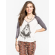 BILLABONG Moon Scraper Womens Baseball Tee