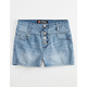 SCISSOR Girls Highwaisted Denim Shorts