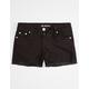 SCISSOR Fray Edge Girls Denim Shorts