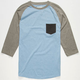 RETROFIT Tri Block Mens Baseball Tee