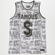 FAMOUS STARS & STRAPS Bank Roll Mens Jersey Tank