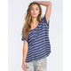 VOLCOM Lived In Rib Womens Tee