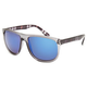 BLUE CROWN Plaid Arm Sunglasses