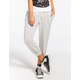 H.I.P. French Terry Womens Cropped Jogger Pants