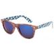 BLUE CROWN Wood Tribal Classic Sunglasses