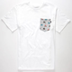 BOHNAM Buffalo Mens Pocket Tee