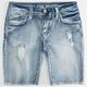 VANILLA STAR Premium Girls Denim Bermuda Shorts