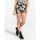 FULL TILT Twin Floral Print Bodycon Skirt
