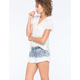 HYDRAULIC Dip Dye Womens Shorts