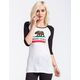 NOR CAL Republic Womens Baseball Tee