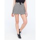 FULL TILT Striped Skater Skirt