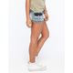 VANILLA STAR Cargo Cutoff Womens Denim Shorts