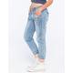 VANILLA STAR Cargo Womens Chambray Jogger Pants