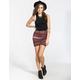 FULL TILT Cinch Side Bodycon Skirt