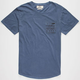 RUSTY Pinpoint Mens Pocket Tee