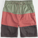 RUSTY Side Step Mens Volley Shorts
