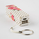 AUDIOLOGY Chevron Floral Portable Phone Charger