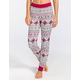 FULL TILT DREAM Fairisle Womens Thermal Pants