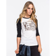 LRG Bout Them Trees Womens Baseball Tee