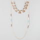 FULL TILT 2 Row Turquoise Bead Necklace