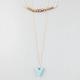 FULL TILT 3 Row Bar/Bead/Arrow Necklace