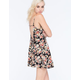 FULL TILT Floral Tiered Dress