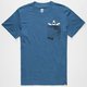 ADIDAS Shark Mens Pocket Tee