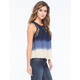 PATRONS OF PEACE Lace Ombre Womens Top