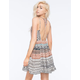PATRONS OF PEACE Strappy Babydoll Dress